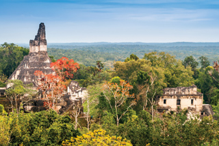 Flores, Guatemala and the Ruins of Tikal