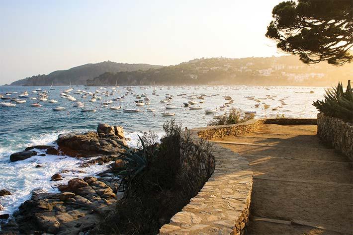 Coast of Costa Brava