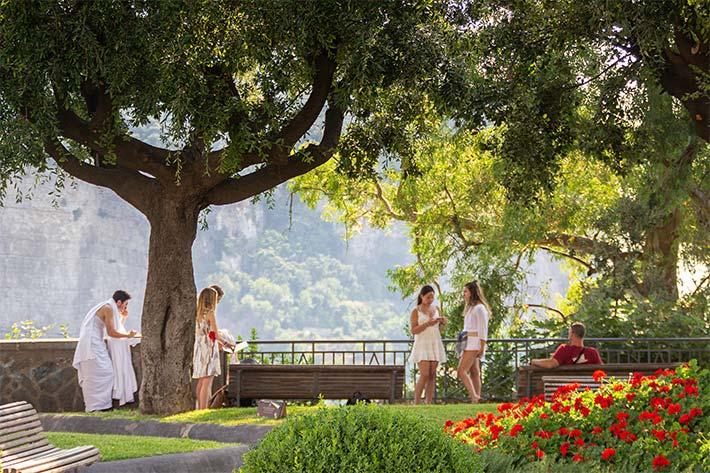 In the Gardens of Capri