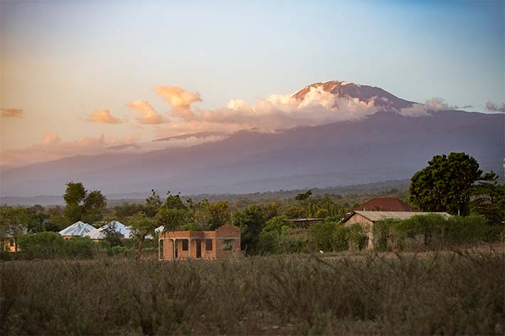 View of Mt. Kilimanjaro