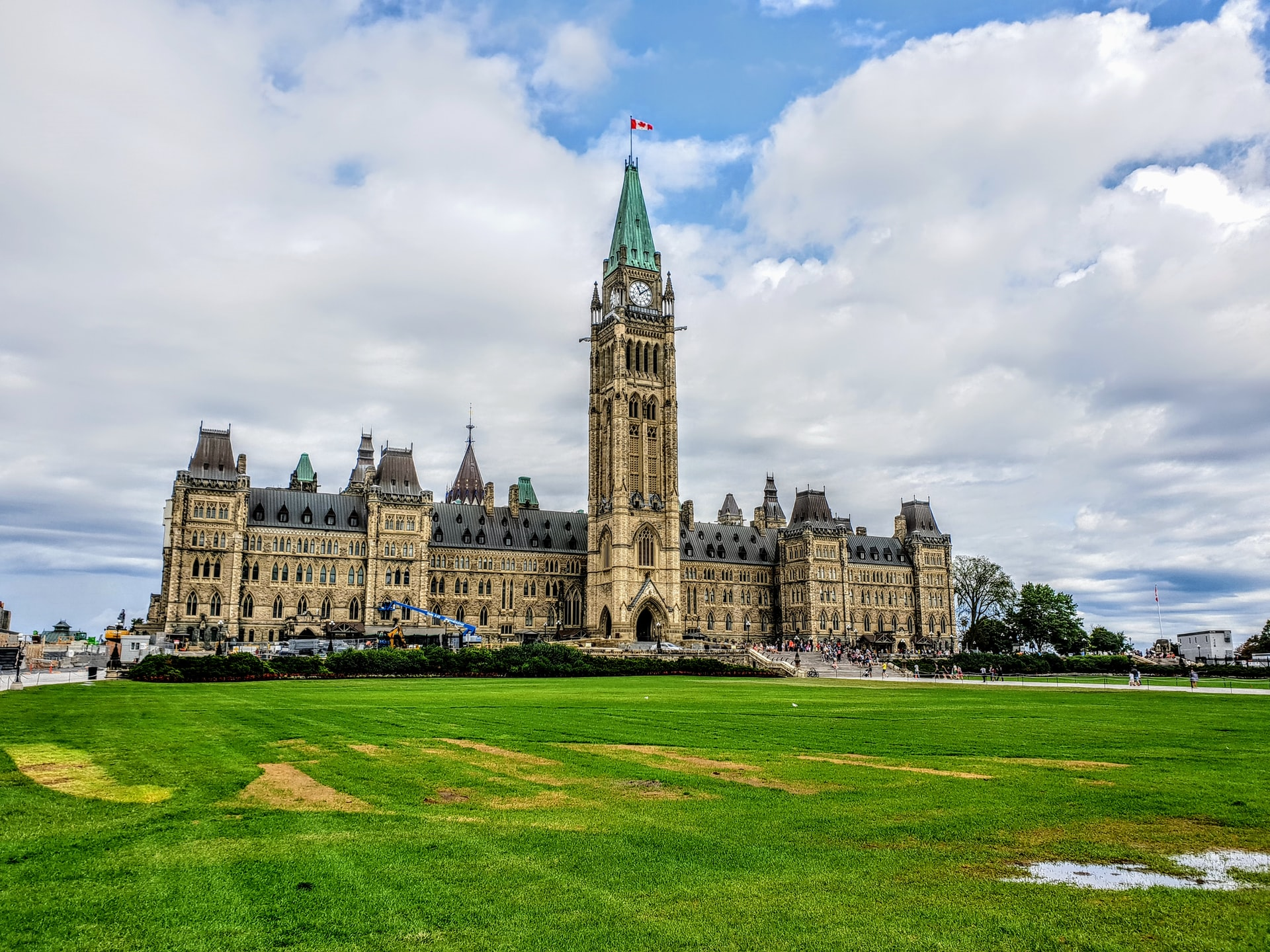 Parliment buildings in Ottawa